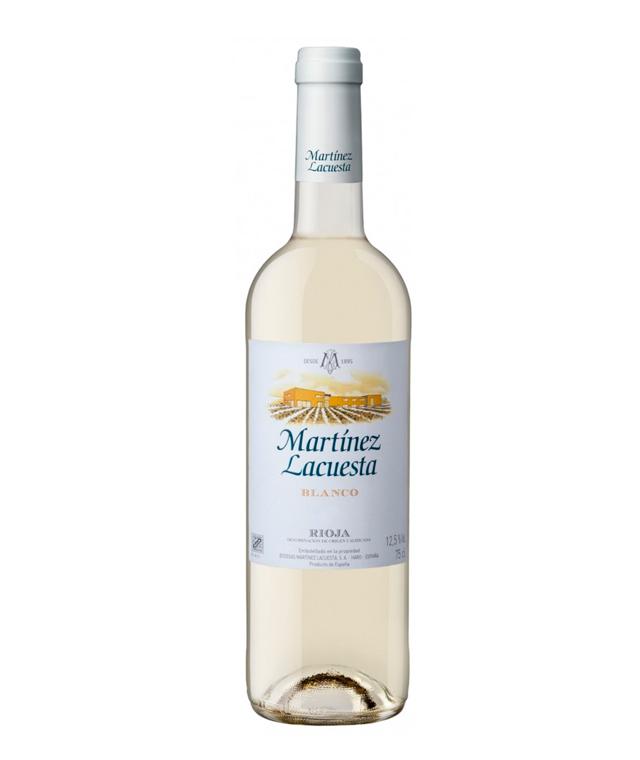 Vino blanco Martínez Lacuesta cosecha Rioja